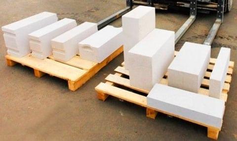 Блоки на складе в Спб из газосиликата