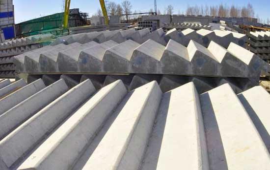 Производство лестниц из бетона