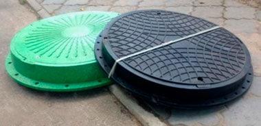 Люки из пластика канализационные