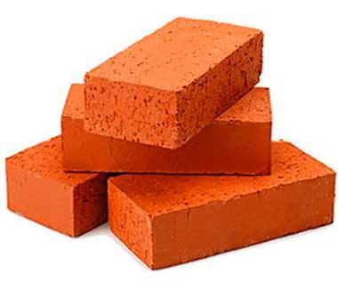 Красный строительный кирпич оптом