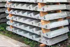 Поставка бетонных лестничных маршей