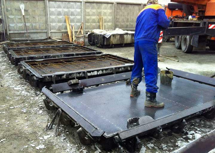 Завод железобетонных дорожных плит