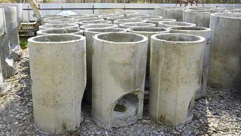 Производство колодцев для стоков вод