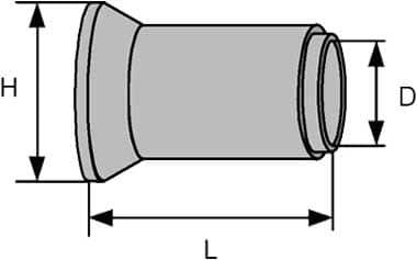 Размеры труб жби в Спб