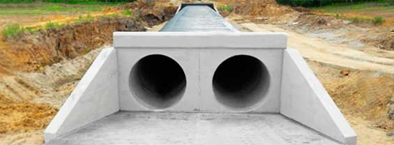 Трубы водопропускные и звенья для них