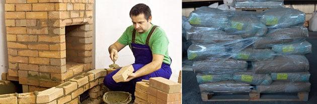 Жаропрочный цемент в Спб купить