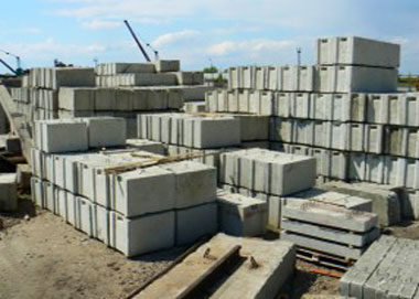 Цена блоков фундамента