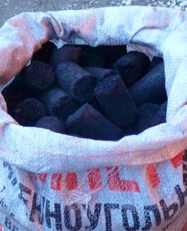 Брикеты каменноугольные в Спб