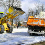 Вывоз снега в Санкт-Петербурге любых объемов недорого