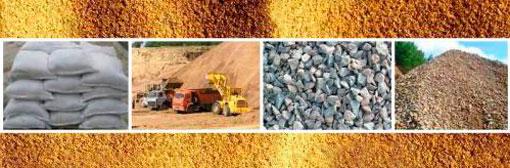 Песок карььерный оптом с доставкой в Спб