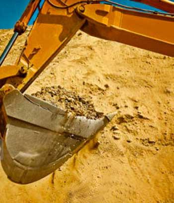 Ковш карьерного песка оптом в Спб
