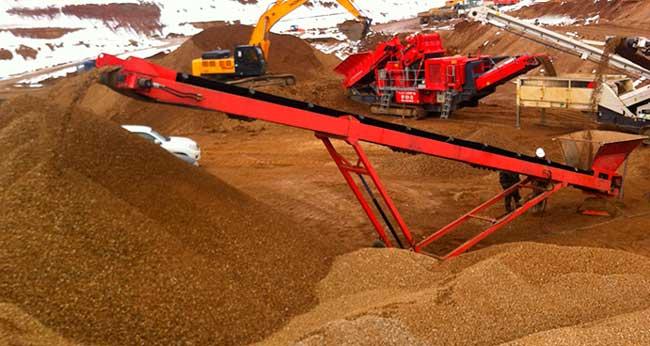 Отсеяный песок с доставкой в Спб