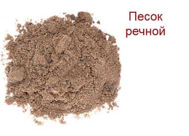 Речной песок оптом в Спб
