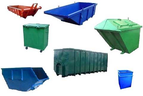 Крупногабаритный и мелкий мусор