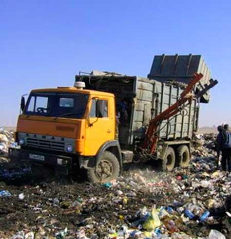 Спб и область для вывозма мусора