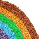 Цветной и обычный гранитный песок оптом в Спб